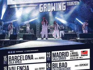 TRAIN TO ROOTS pronti per il nuovo tour spagnolo ad ottobre
