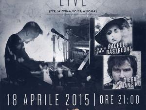 DARDUST: Sabato 18 aprile LIVE al MONK di ROMA con Rachele Bastreghi e Diego Mancino