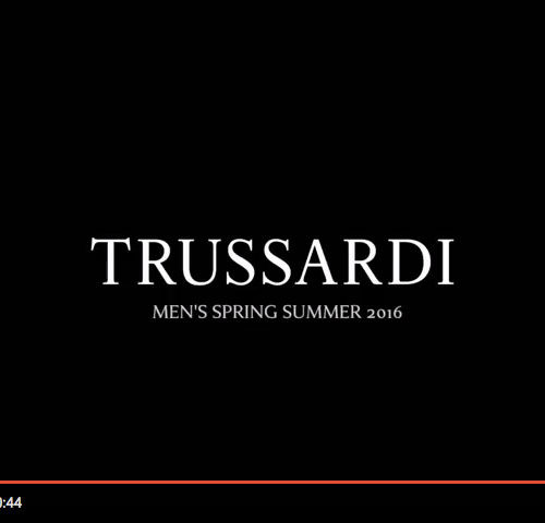 TRUSSARDI – Men's Spring Summer 2016