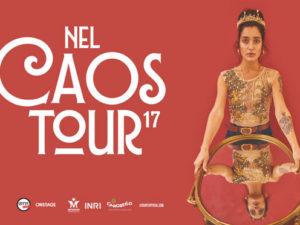 LEVANTE: 'NEL CAOS TOUR 2017' domani il debutto all'Atlantico Live di Roma